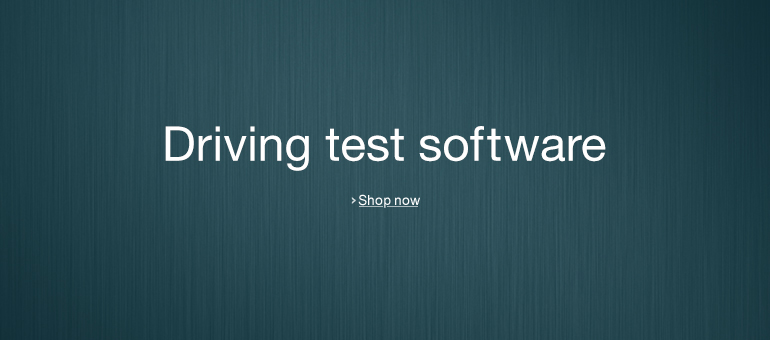 Driving Test Software