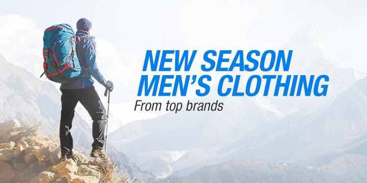 New Season Men's Clothing