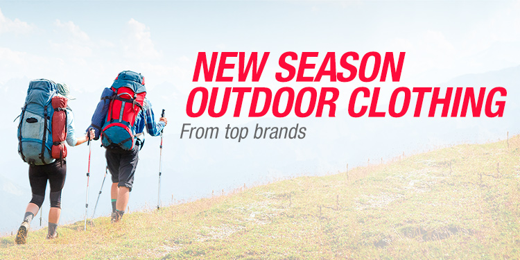 New Season Outdoor Clothing
