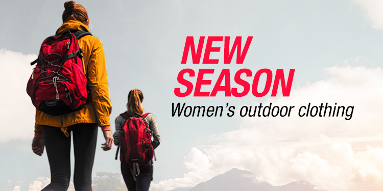 New Season Women's Outdoor Clothing