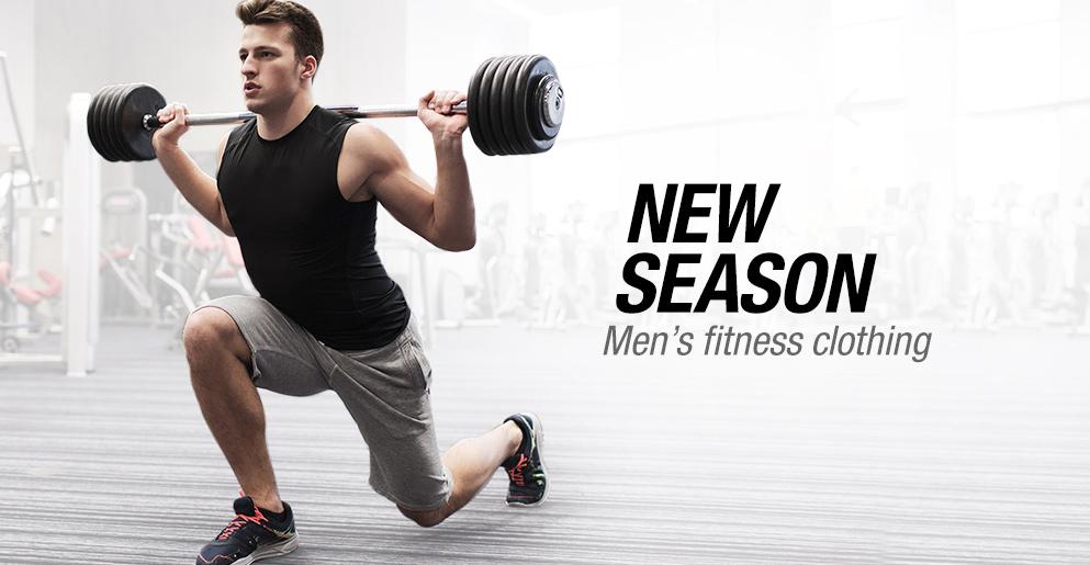 New Season Men's Fitness Clothing
