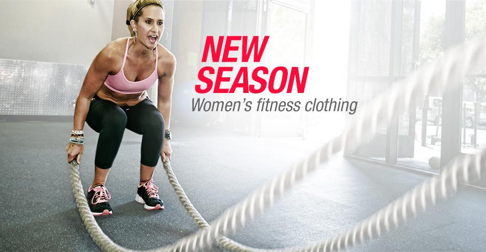 New Season Women's Fitness Clothing