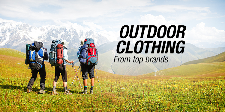 Outdoor Clothing from Top Brands