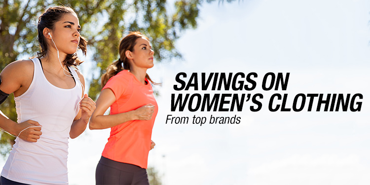 Savings on Women's Clothing