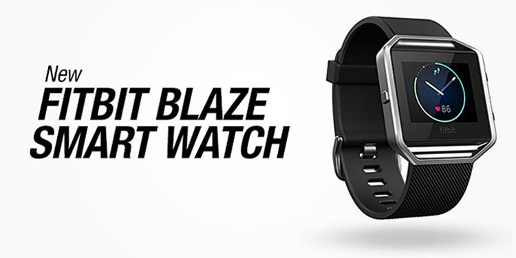 New Fitbit Blaze Smart Watch