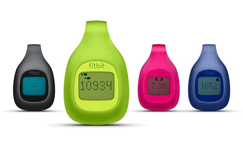 Fitbit Zip Wireless Activity Tracker comes in four colours