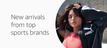 New arrivals from top sports brands