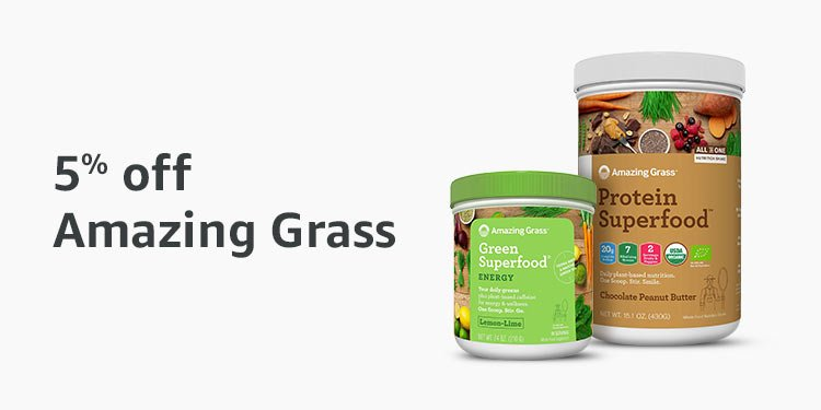 5% off Amazing Grass superfood