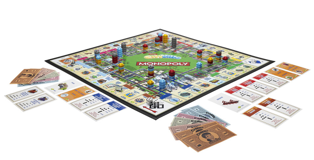 Monopoly Cityville Board Game: Amazon.co.uk: Toys & Games