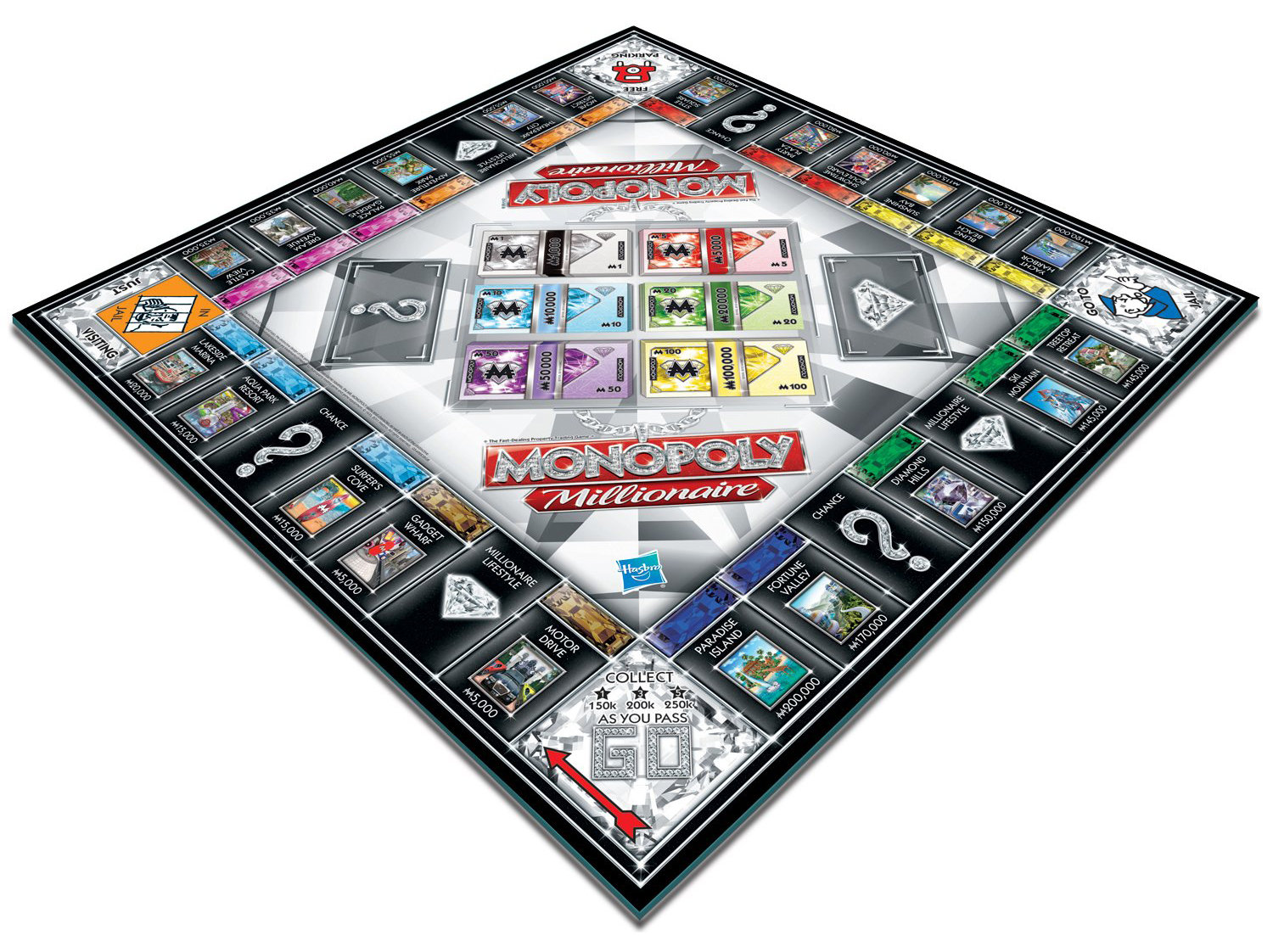 Toys And Games Com : Hasbro monopoly millionaire amazon toys games