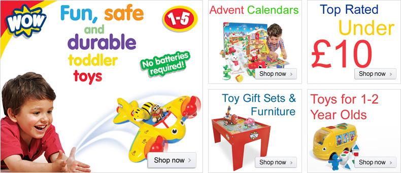 WOW Toys Brand Store Billboard