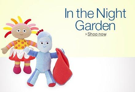 In the Night Garden Toys