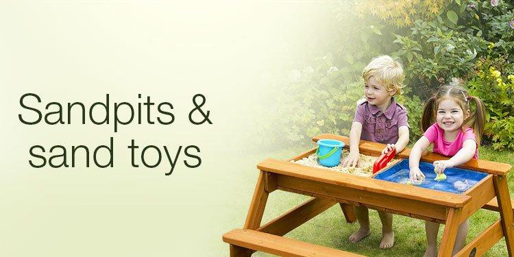 Sandpits & sand toys