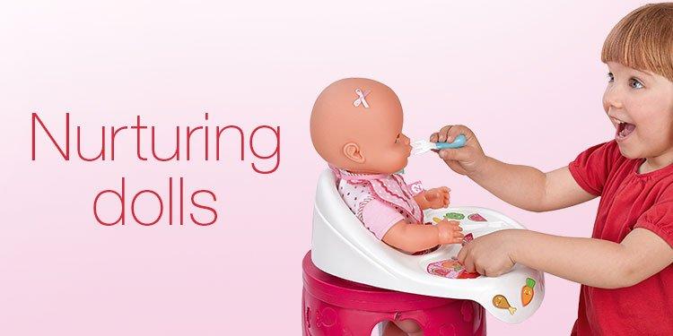 Nurturing dolls