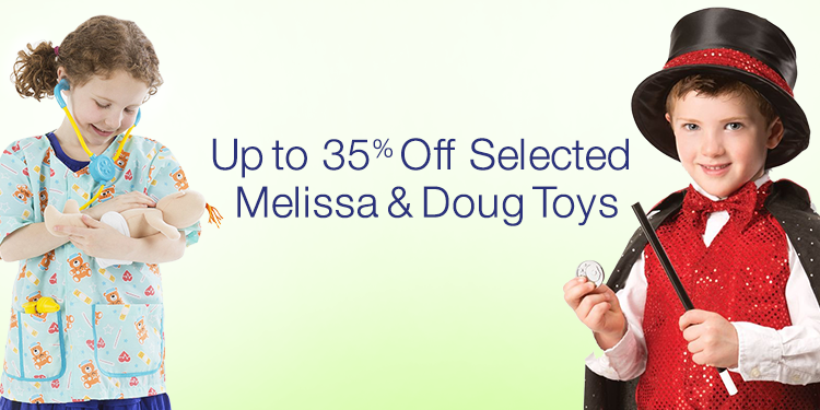 Up to 35% Off Selected Melissa & Doug Toys