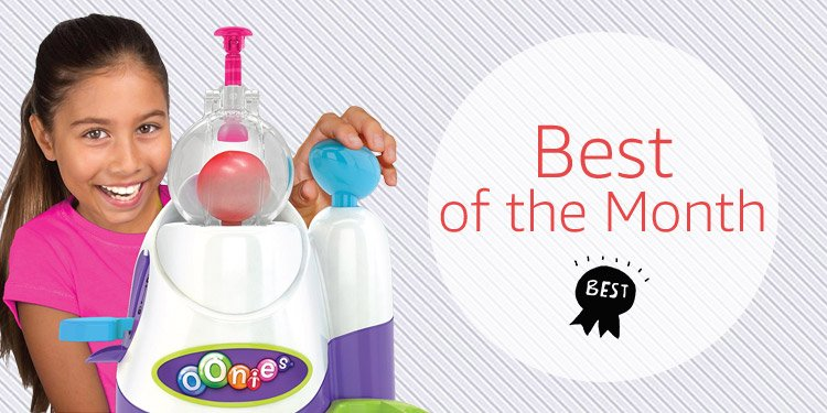 Best of the Month toys
