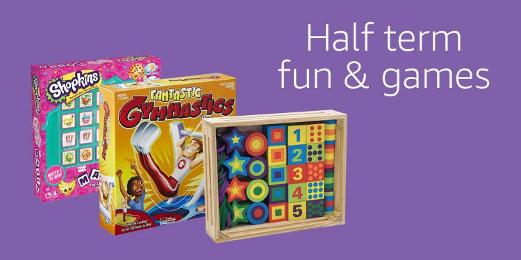 Half term fun & games