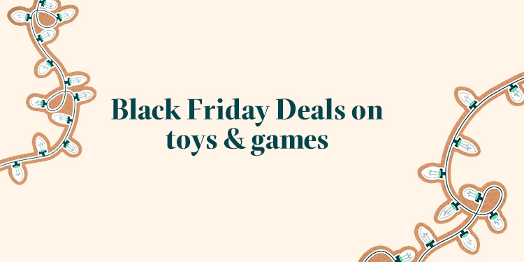 Up to 40% off selected toys & games
