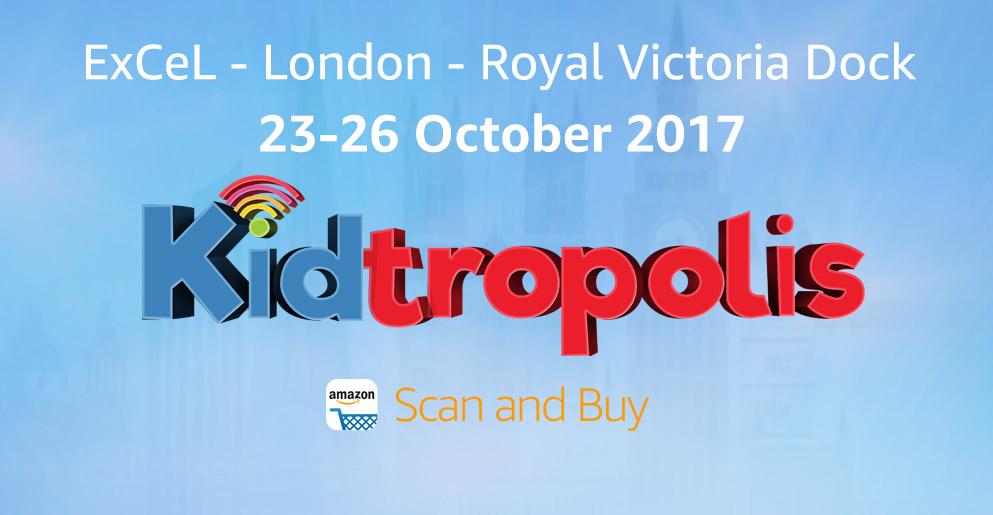 Amazon Scan & Buy @ Kidtropolis