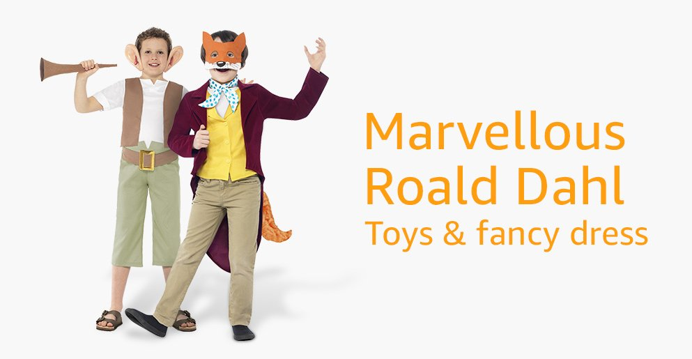 Marvellous Roald Dahl Toys & fancy dress