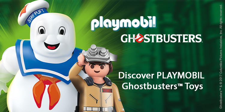 Discover Playmobil Ghostbusters Toys