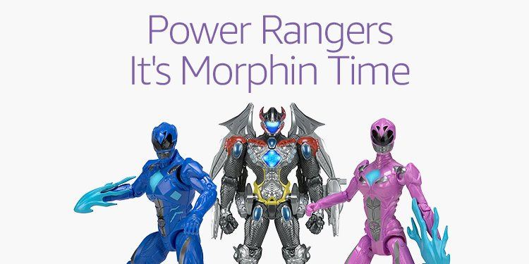 Power Rangers It's Morphin Time