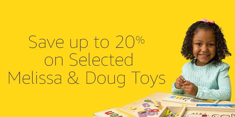 Melissa and Doug 20% off