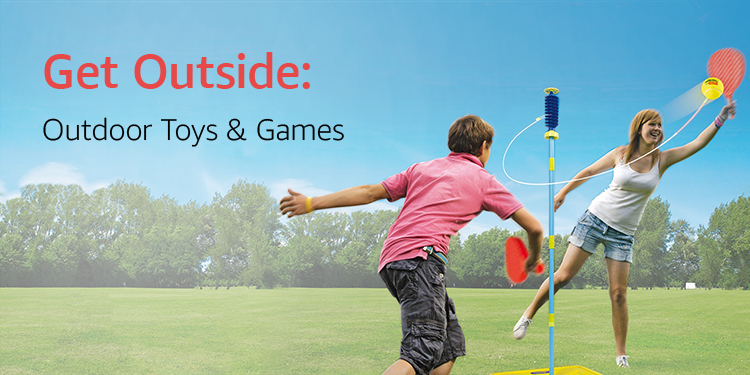 Get Outside: Outdoor Toys & Games