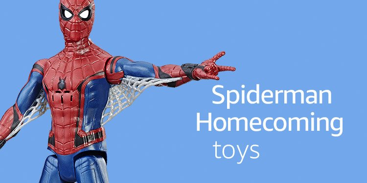 Spiderman Homecoming Toys