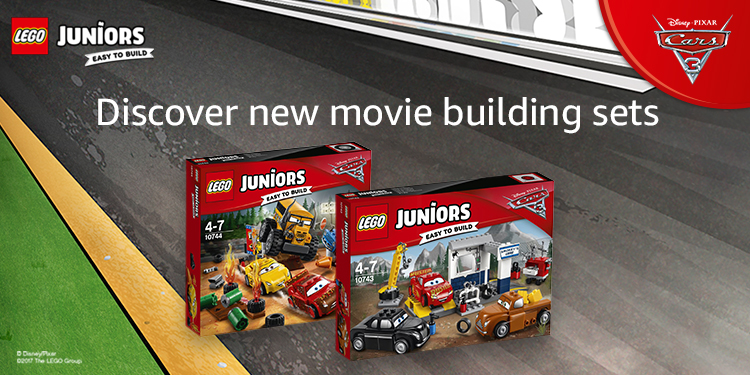 Discover new movie building sets