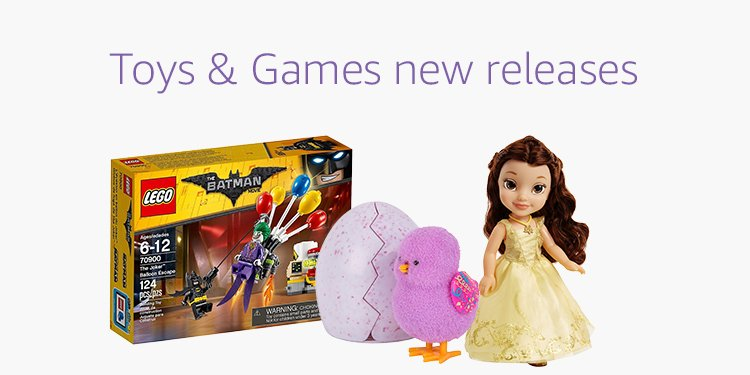 Toys & Games new release