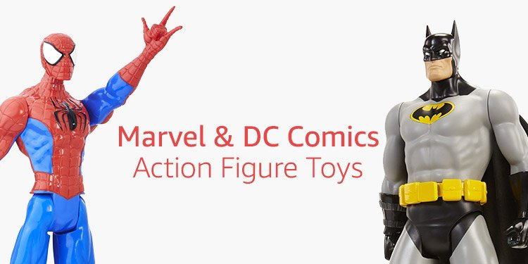 Marvel & DC Comics Action Figure Toys