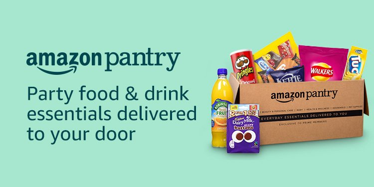 Amazon Pantry Party Food & Drink
