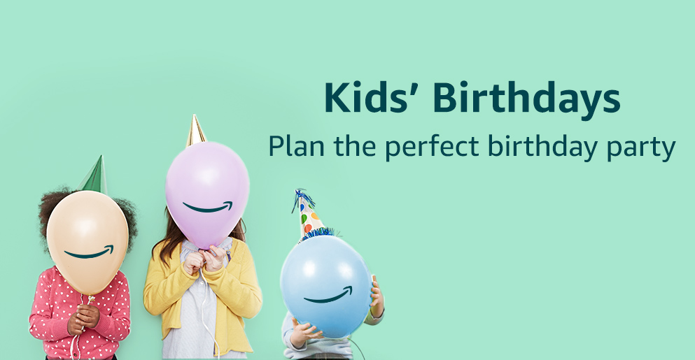 Kids' Birthdays, plan the perfect birthday party