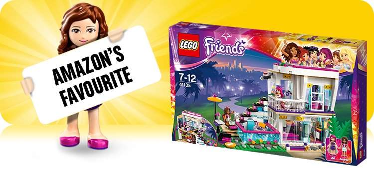 Amazon.co.uk Toys & Games: LEGO Friends | LEGO Friends Sets ...