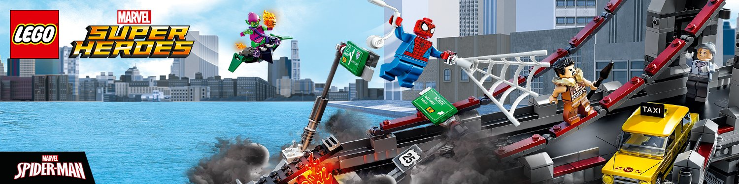 Amazon.co.uk Toys & Games: LEGO Marvel Super Heroes| LEGO Spiderman ...