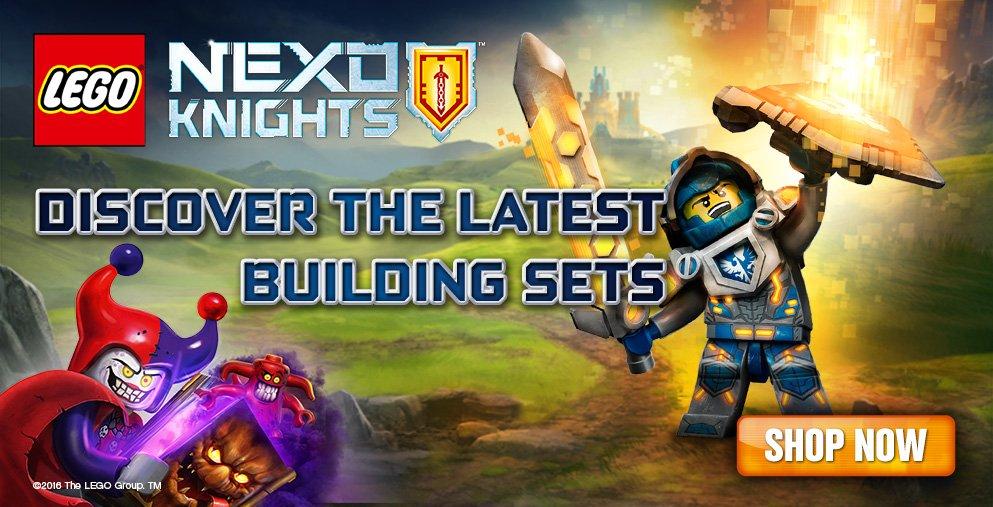 Latest LEGO Nexo Knights building sets