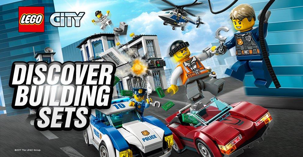 Discover LEGO City Building Sets
