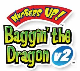 The Numbers Up! Baggin' the Dragon Logo