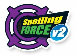 The Spelling Force v2 Logo