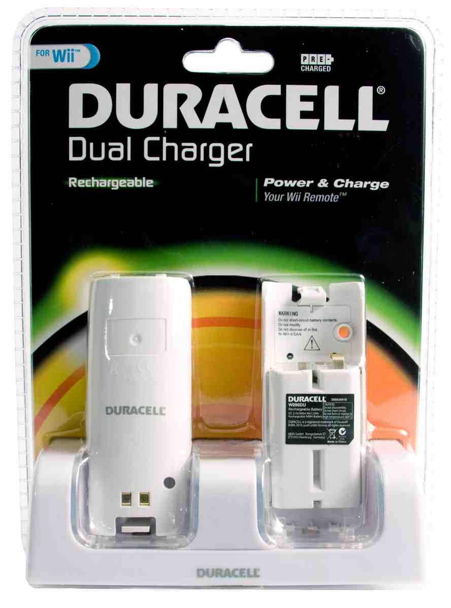 Duracell Wii Charger - White