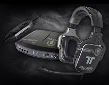 Call of Duty Black OPS ProGaming AX720 Headset (PS3/Xbox 360): Amazon.co.uk: PC & Video Games