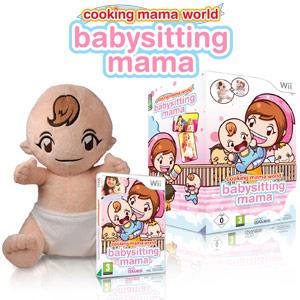 Cooking Mama World: Babysitting Mama inkl. Stoffpuppe: Amazon.co ...