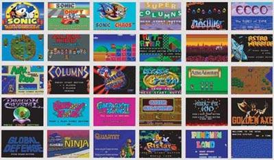 Blaze Gear Sega Master System LCD Handheld Small Box Version