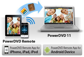 Enjoy PowerDVD with Your Smart Devices