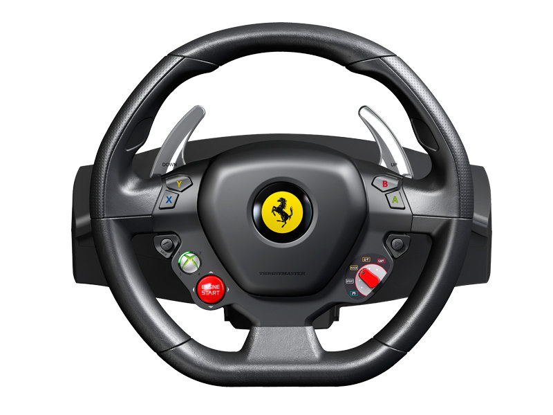 Ferrari F458 Italia Racing Wheel Xbox 360 Amazon Co Uk