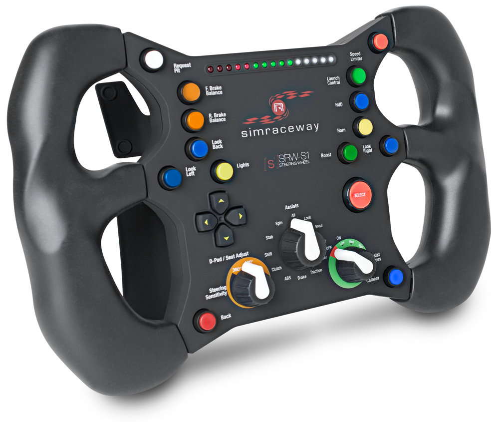 SteelSeries Simraceway SRW-S1 Steering Wheel (PC): Amazon co