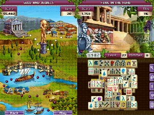 300 Mahjong levels in Ancient Greece
