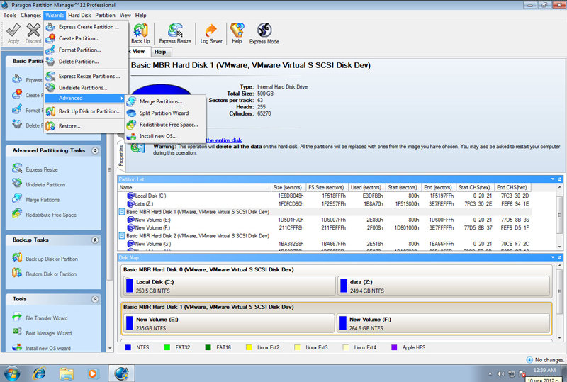 Paragon Partition Manager 12 - Professional Edition (PC)