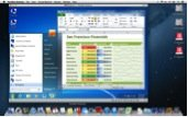Parallels Desktop 8 for Mac running Mac and Windows applications side by side seamlessly